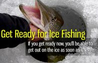 Get Ready for Ice Fishing