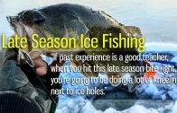 Late Season Ice Fishing