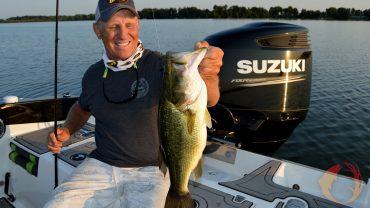 Mike Frisch fishing largemouth