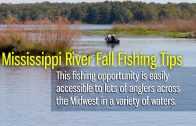Mississippi River Fall Fishing Tips